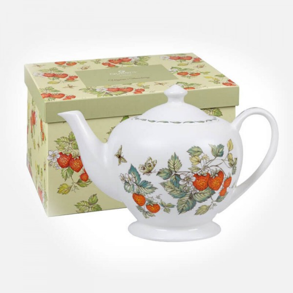 Queens Classic Virginia Strawberry Teapot