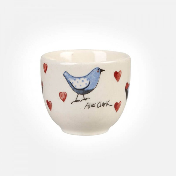 Alex Clark Lovebirds Egg Cup Churchill China