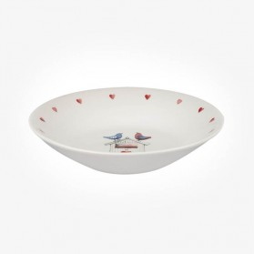 Alex Clark Lovebirds Coupe Bowl 20cm Border