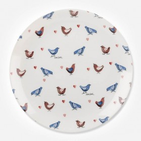 Alex Clark Lovebirds All Over Dinner Plate 26cm