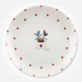 Alex Clark Lovebirds Border Dinner Plate 26cm