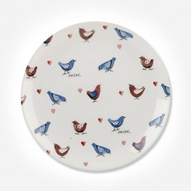 Alex Clark Lovebirds All Over Side Plate 20cm