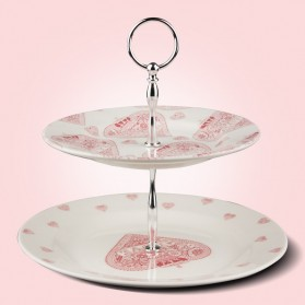 Made with love 2 Tier Cake Stand