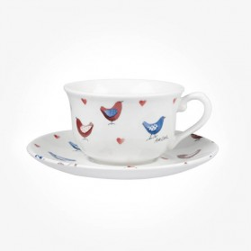 Alex Clark Love Birds Tea cup & Saucer