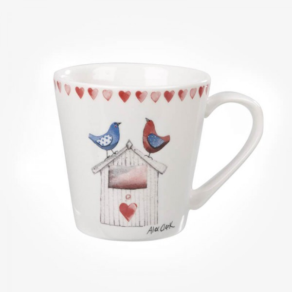 Alex Clark Love Birds Comet Mug