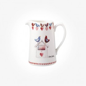 Alex Clark Love Birds 0.5 Pint Jug