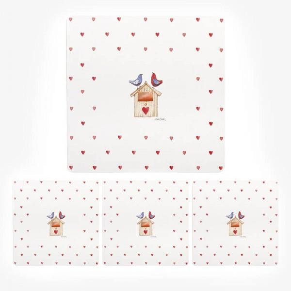 Alex Clark Love Birds Placemat set 29cm