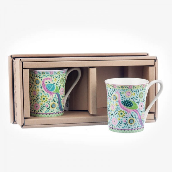 Hidden World Set of 2 Udai Palace (India) mug Gift box