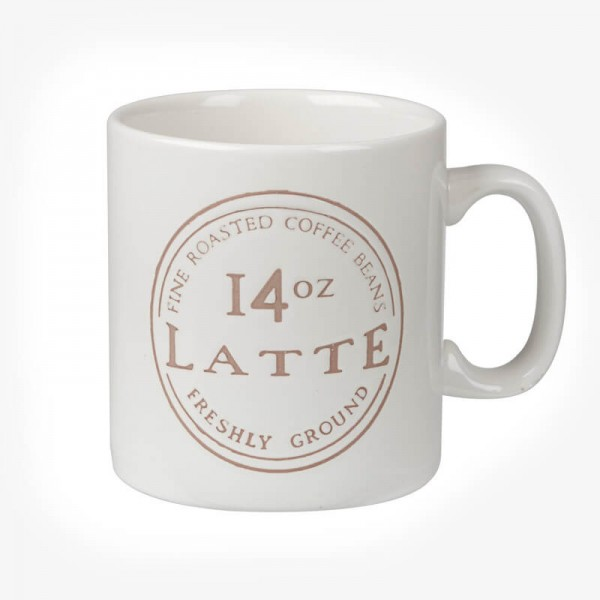 James Sadler Latte Mug 14 OZ