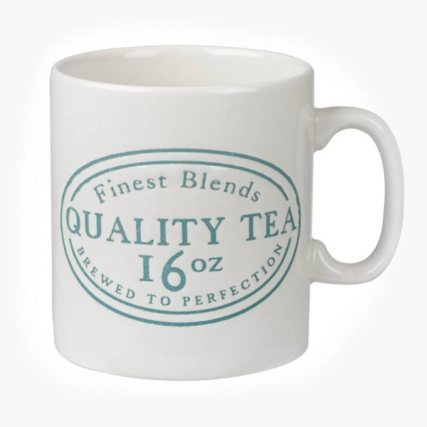 JAMES SADLER  Quality Tea MUG 16 OZ