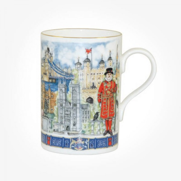 James Sadler Thameside Cedar Mug Gift Box
