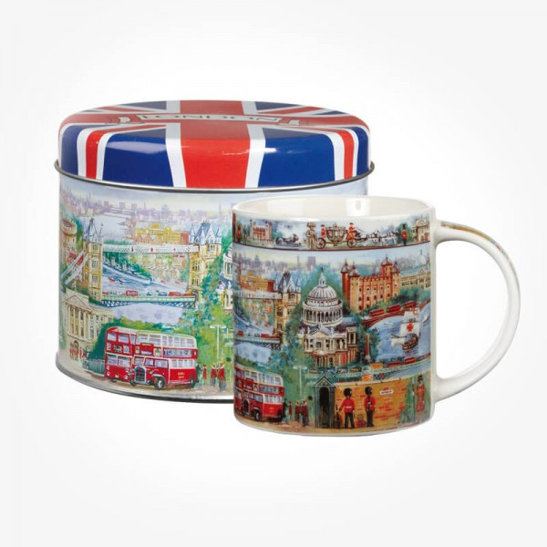 James Sadler City of London MUG Gift Tin