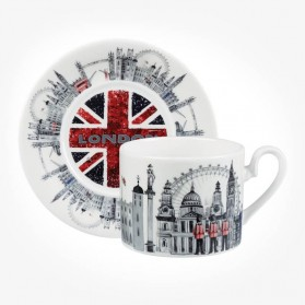 James Sadler Changing of the Guards Cup & Saucer Gift Box