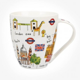 James Sadler Sights of London Crush Mug