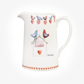 Alex Clark Love Birds Jug 1.5 pint Jug