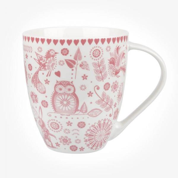 Caravan Trail Penzance Pink Mug