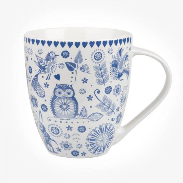 Caravan Trail Penzance Blue Mug