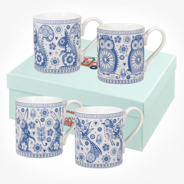 Caravan Trail Penzance Larch Mug Gift Box Set