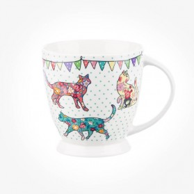 Caravan Trail Lily Mugs Festival Cats