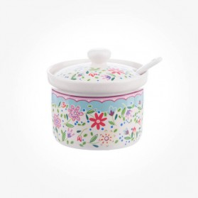 Caravan Trail Fowey Jam Pot w/Spoon