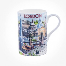 James Sadler Highlights Of London Cedar Mug