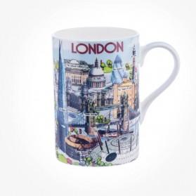 James Sadler Highlights Of London Cedar Mug