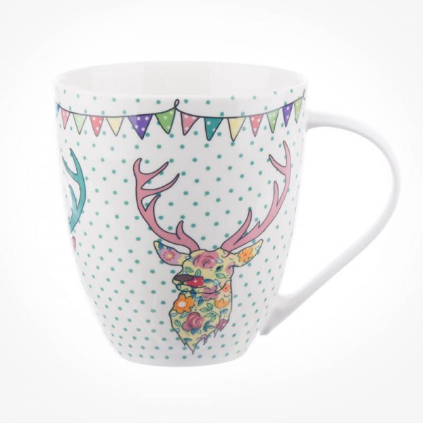 Caravan Trail Festival Stags Crush Mug