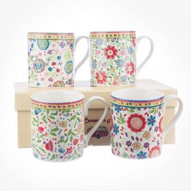 Caravan Trail Larch North Coast 4 mugs Gift Box