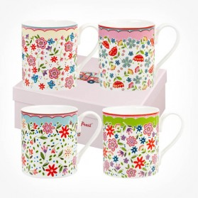 Caravan Trail Rivera Larch 4 Mugs box set