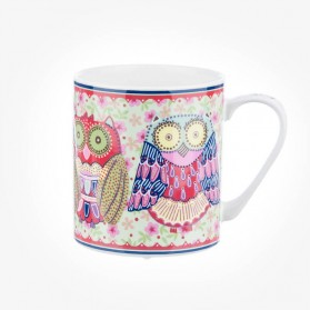 Caravan Trail Night Owls Earth Mug
