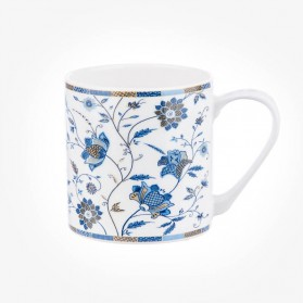 Colour Canvas Blue Story Indian Silk Mug