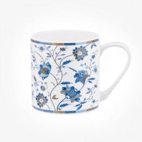 Colour Canvas Blue Story Indian Silk Mug