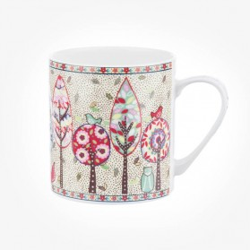 Caravan Trail Earth Willow Wood Mug