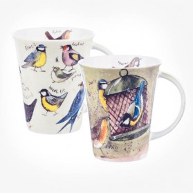Alex Clark Bird World mugs