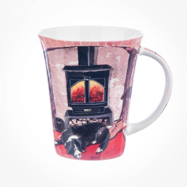 Alex Clark Flirt Beside The Fire Mug