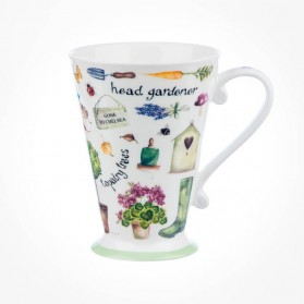Queens Couture Head Gardener Pillow mug