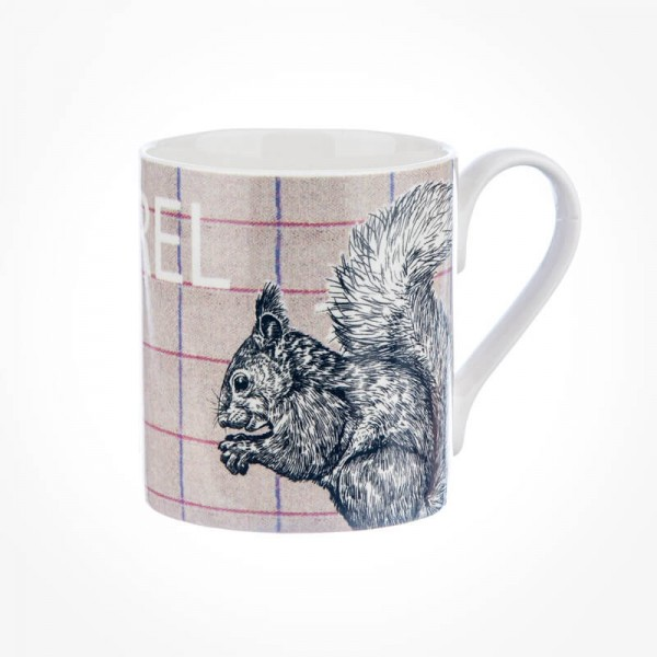 Queens Couture Country Squirrel Mug