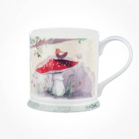 Alex Clark Mello Yellow Toadstools Mug