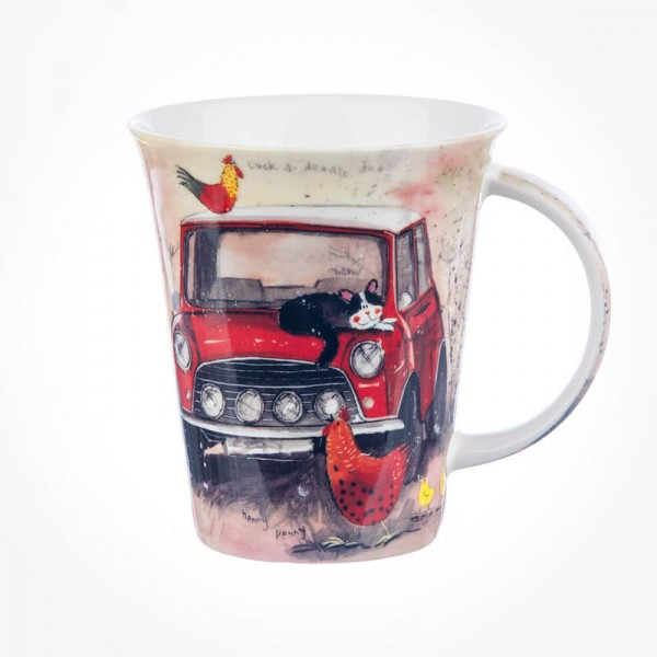Alex Clark Assorted Vehicles Flirt Mug