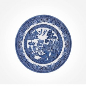 Blue Willow Side Plate 17cm