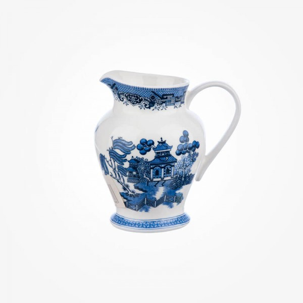 Churchill Blue Willow 0.5 Pint Jug