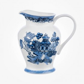 Churchill China Blue Willow 1.5 Pint Jug