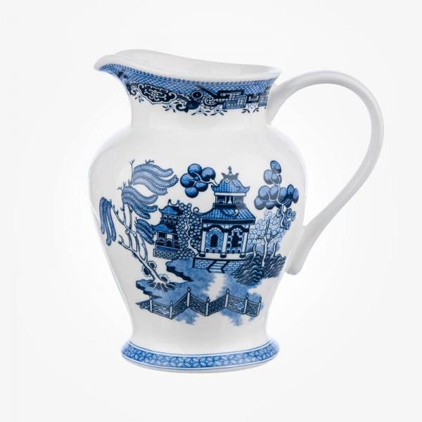 Churchill China Blue Willow 1.5 Pint Jug