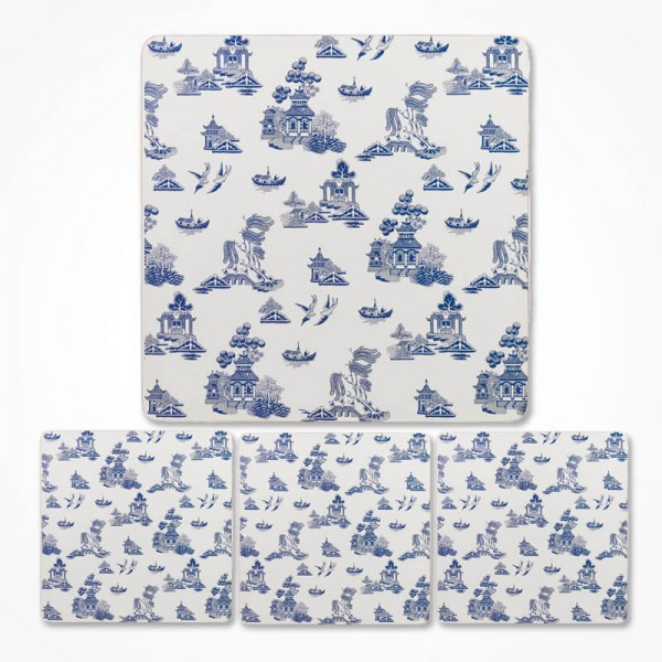 Blue Willow Placemat set of 4