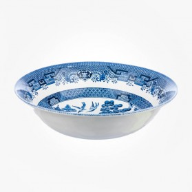 Blue Willow Salad Bowl 24cm
