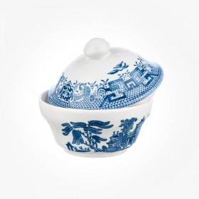 Blue Willow Covered Sugar 160mL