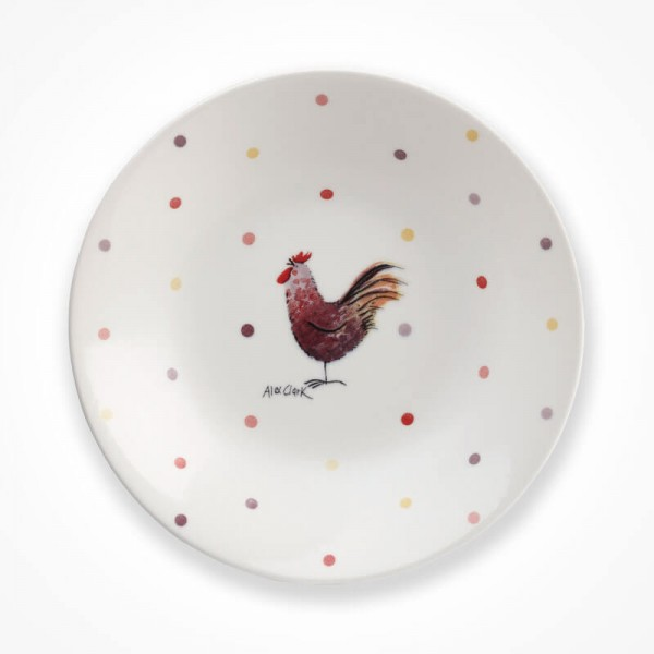 Alex Clark Rooster Mint Coupe Bowl
