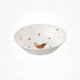 Alex Clark Rooster Oatmeal Bowl 15.5cm