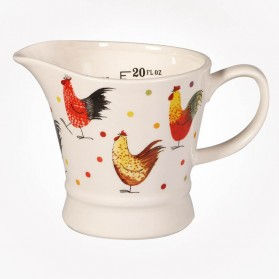 Alex Clark Rooster 1 Pint Measuring Jug