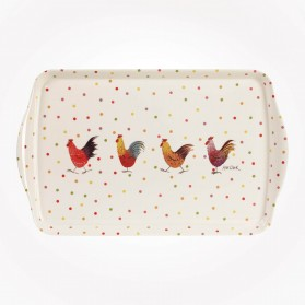 Alex Clark Rooster Melamine Tray